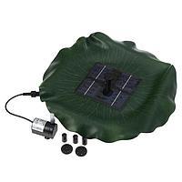 Фонтан плавающий «Лотос», d = 30 см, на солнечной батарее