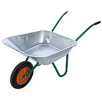 Тележка садовая 1-колесная 90 кг/ 65л