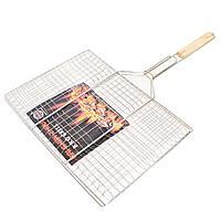 Решетка для гриля стальная антипригарная 45*30 см