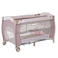 PITUSO Манеж-кровать Granada Friendship/Дружба,2-уровневый на молнии лаз пласт кольца 4шт, 2 колеса