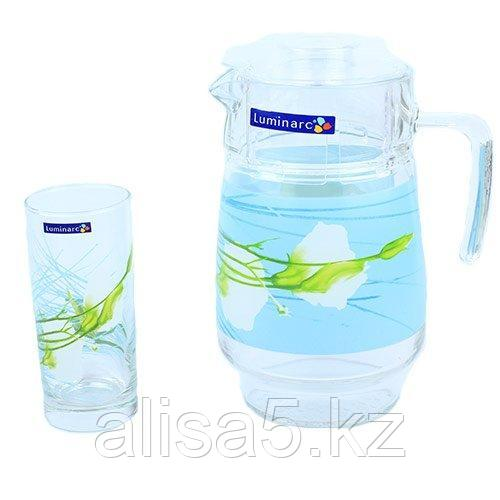 SOFIANE BLUE набор для напитков 7 предметов, шт