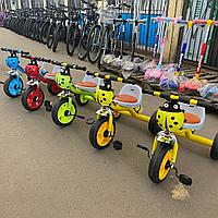 Трехколесный велосипед с мягкой сидушкой 04