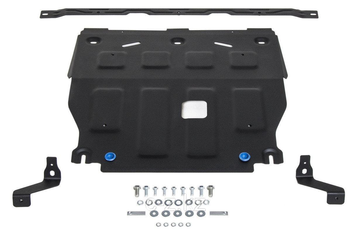 Защита картера + КПП + комплект крепежа, Сталь, Hyundai Elantra VII 2021-