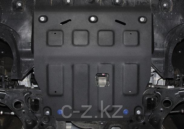 Защита картера + КПП + комплект крепежа, Сталь, Hyundai Elantra VII 2021-, фото 2