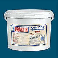Клей ПВА строительный, Bergauf Praktik, 10 кг