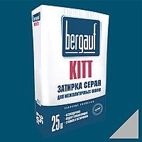 KITT СЕРАЯ затирка для межплиточных швов, 25 кг, Bergauf