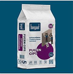 Универсальная шпаклевка FUGEN GIPS, 5 кг, Bergauf