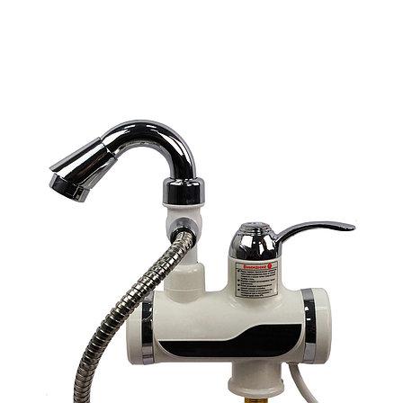 Кран водонагреватель с насадкой для душа, фото 2
