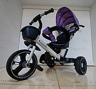 Детский велосипед трехколесный Haolaifo с родительской ручкой. Рассрочка. Kaspi RED