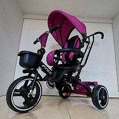 """Детский велосипед трехколесный складной """"FNIX"""" с родительской ручкой. Рассрочка. Kaspi RED"""