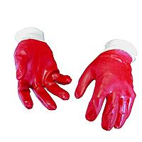 Перчатки МБС, красные