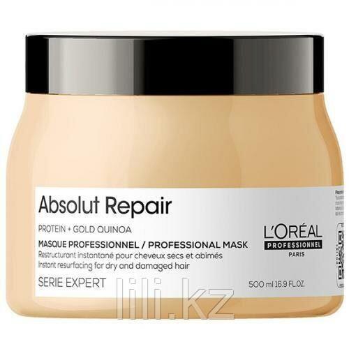 Маска с кремовой текстурой для сильно поврежденных волос L'Oreal Absolut Repair Lipidium 500 мл.