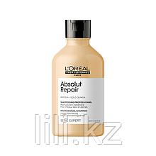 Восстанавливающий шампунь для очень поврежденных волос Absolute Repair Gold Qunoa+Protein Shampoo 300 мл.