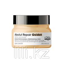 Маска с золотой текстурой для восстановления поврежденных волоc L'Oreal Absolut Repair Gold Masque 250 мл.