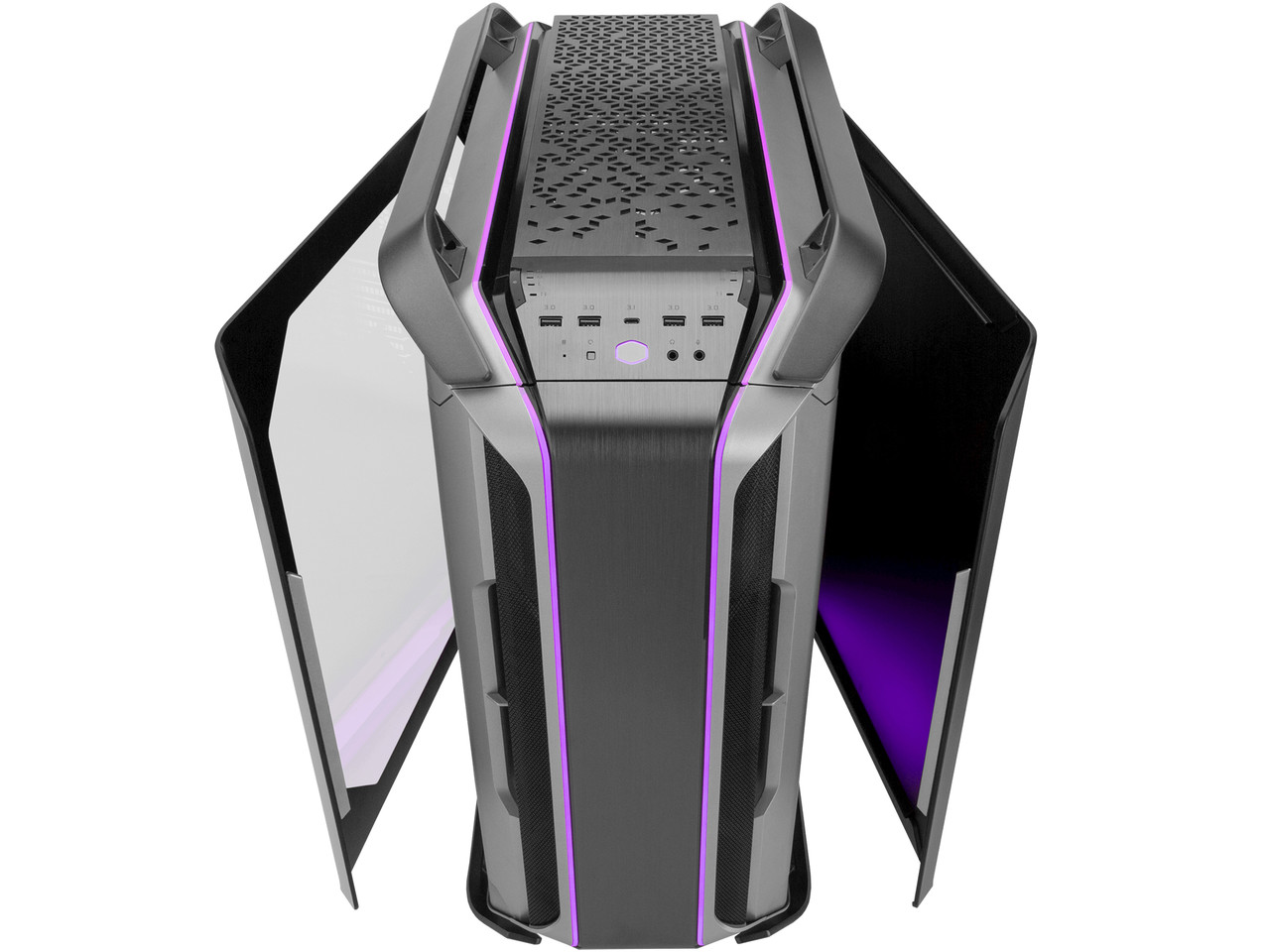 Корпус ATX midi tower CoolerMaster Cosmos C700M, MCC-C700M-MG5N-S00, (без БП), black
