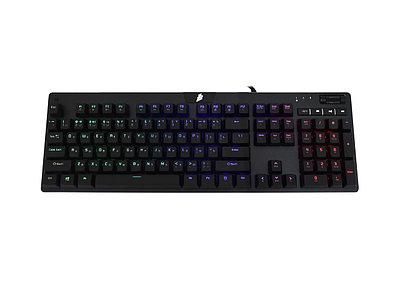 KeyBoard USB 1st Player MK6, черный