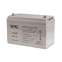 Гелевая аккумуляторная батарея SVC GL1280, 12В, 80 Ач