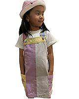 Джинсовый сарафан для девочек
