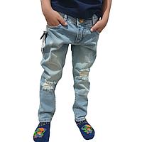 Рваные джинсы в стиле BILLIONAIRE унисекс