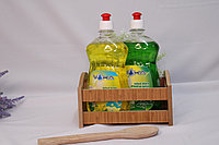 Средство для мытья посуды VOKA 500 мл. Пуш-Пул Аромат: Яблоко Лимон