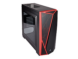 Корпус ATX midi tower Corsair, Carbide Spec 04, black-red