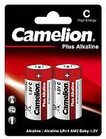 Батарейка Camelion Plus Alkaline типа C/LR14, 2шт