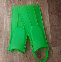 Ласты пластиковые с открытой пяткой размер регулируется, цвета в ассортименте подростковые