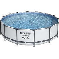 Каркасный круглый бассейн Bestway 56416 (3,66х0,76 ) с картриджным фильтром и лестницей лестницей