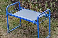 Садовая скамейка перевертыш голубая Nika 64555 (002)