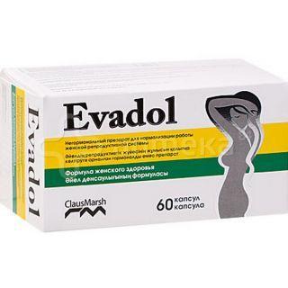 Эвадол капсулы №60