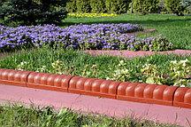 """Садовый бордюр """"Улитка"""" 7х350 см, Терракот 65045 (002)"""