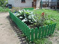 "Декоративный забор ""Кантри"" зеленый 29х224 см PALISAD 65003 (002)"