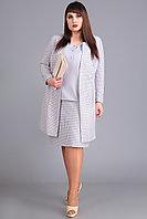 Женский юбочный костюм большого размера тройка