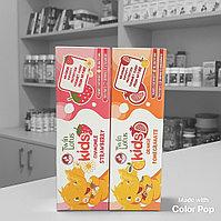 Зубная паста Twin Lotus Kids Клубника и ромашка / Гранат и Апельсин (с 3 лет)