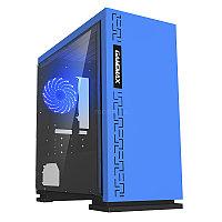 Корпус ПК без БП GameMax EXPEDITION H605-BLU