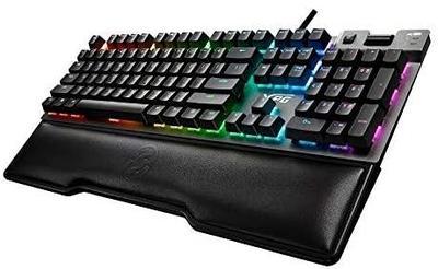 Клавиатура USB XPG SUMMONER, RGB, (Cherry MX silver switches), серый