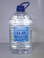 Вода дистиллированная H2O 5л