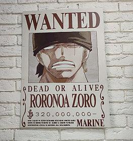 Постер Зоро - One piece