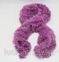 Шарф трансформер, цвет лиловый