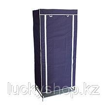 Шкаф тканевый для одежды, цвет синий