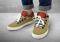 Полуботинки женские Gorky Boots Low6 зеленый (текстиль)
