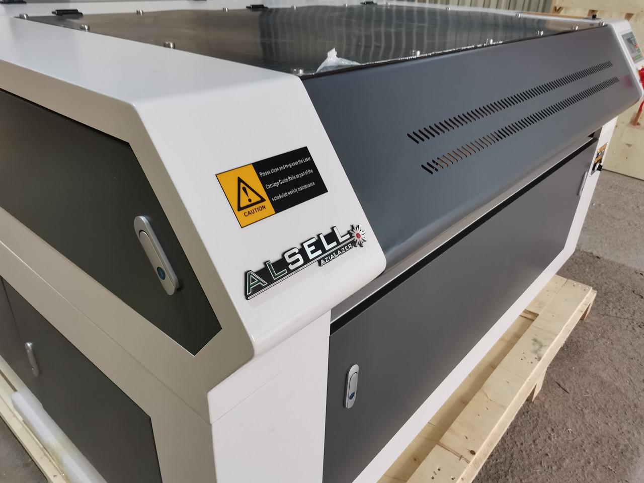 Лазерный станок GS 130*90Prof 100W Puri +Chiller 5000+подъем стола
