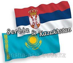 Международное сотрудничество Казахстан и Сербия!