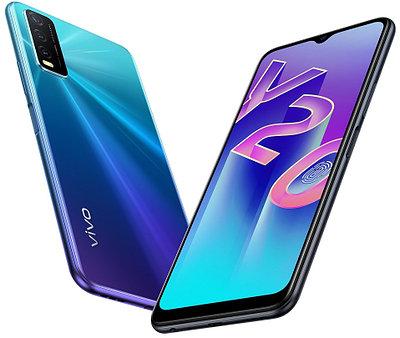 Смартфон Vivo Y20 Nebula Blue(2027)