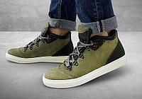 Полуботинки женские Gorky Boots Middle2 зеленый (текстиль)