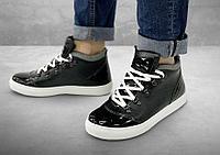 Полуботинки женские Gorky Boots Middle1 черный (текстиль)