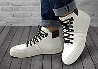 Ботинки женские Gorky Boots High2 белый (капровелюр)