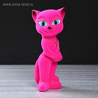 """Копилка """"Кошка Аннет"""", розовый цвет, 34 см"""
