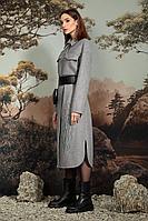 Женское осеннее драповое серое пальто NiV NiV 2002 42р.