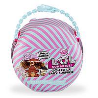 L.O.L. Surprise Ooh La La Baby Lil D.J. Большие сестрички Лол Сюрприз с сумочкой, косметикой и аксессуарами